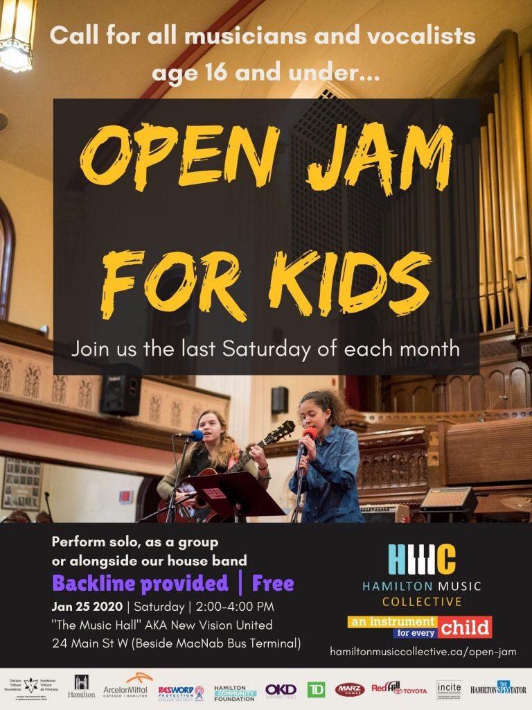 Open Jam for Kids