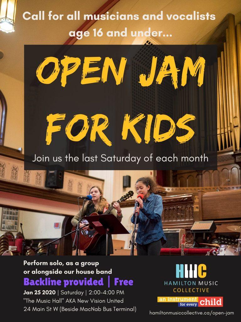 Open Jam Poster