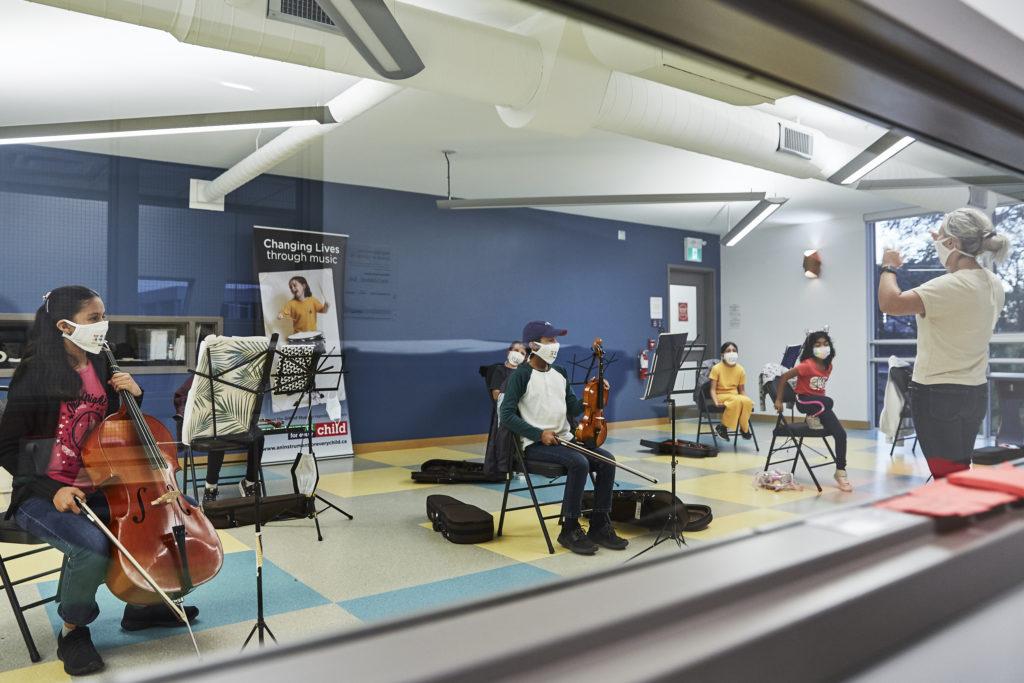 String Ensemble Rehearses at The Gasworks